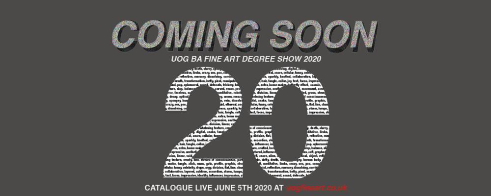 Undergraduate Degree Show 2020